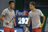 Roger-Federer-Zhang-Ze-shanghai-doubles