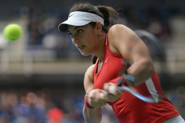 ana-konjuh-croatian-tennis-player-hitting-backhand-wta-rising-star-getting-to-know
