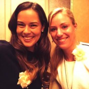 ana-ivanovic-angelique-kerber-tennis-friends-wta-tokyo-players-party-selfie-happy