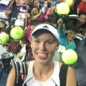 carolina-wozniacki-china-open-beijing-selfie-post-match-smile-tongue-out-funny-face